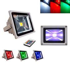 FARO 50W LED RGB SMD FARETTO MULTICOLORI CON TELECOMANDO ILLUMINATORE ESTERNO