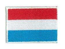 Ecusson patche patch thermocollant LUXEMBOURG petit 45 x 30 mm brodé