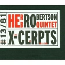 "HERB ROBERTSON ""X-CERPTS""  CD NEW+"