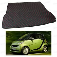 Anti Scrape Leather Car Trunk Mat Carpet Fit for Smart fortwo 2007-2014