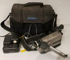 RCA CC6364 VHS-C Camcorder Handheld Autoshot Steady Pix Camera 400X Digital Zoom