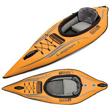 New Advanced Elements Lagoon Inflatable Kayak AE1031, with carrying case!
