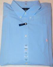 New Men's Polo Ralph Lauren S/S Stretch Cotton Button Down Shirt 2XB Big