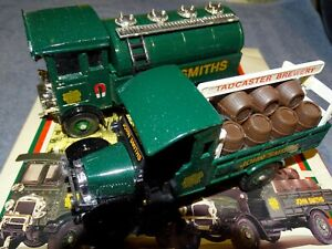 CORGI OFFICIAL BREWERY MODELS VINTAGE JOHN SMITH'S BREWERY TANKER & TRUCK