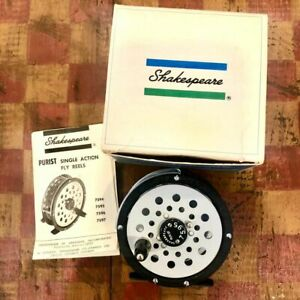 New Old Stock SHAKESPEARE PURIST 7595 Fly Rod Reel Michigan USA
