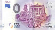 Commemorative 0 Euro Limited Edition Souvenir Banknote of Dublin, Ireland
