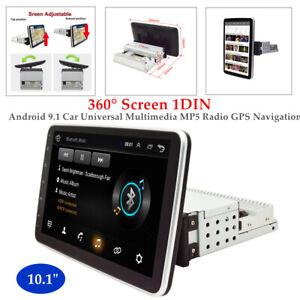 """10.1"""" 360° Screen 1DIN Android 9.1 Car 1+16GB Multimedia WIFI MP5 Radio GPS Navi"""