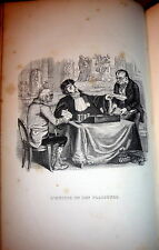 1838 La Fontaine Fables with  Grandville Illustrations