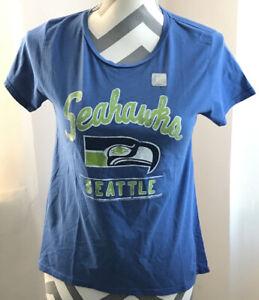 Retro Seattle Seahawks Girls Shirt 2XL 14 XXL Junk Food NFL NEW