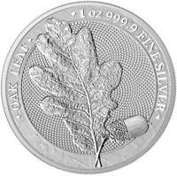 2019 Oak Leaf 1oz .9999 Silver Bullion Coin - Germania Mint
