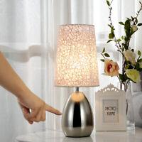 Touch Sensor Table Lights Bedside Table Lamp Desk Top Adjustable Table Lighting