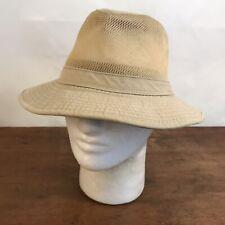 Dorfman Pacific Company Sun Shade Fedora Boonie Bush Bucket Hat Mens Medium