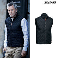 Nimbus Men's Camden Gilet NB46M - Diamond Quilted Nylon Casual Outerwear