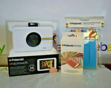 Polaroid SNAP Touch Instant Print Digital Camera with Extras (White)