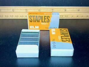 WAIT! ⭐2 BOXES OF 1,000!⭐ MINI #10 STAPLES FOR SWINGLINE TOT 50 & SMALL STAPLERS