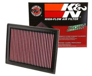 2 K&N Hi-Flow Air Intake Drop In Filters 33-2409 For Infiniti See Detail