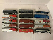 B109- Mixed Lot Of HO Scale Athearn F7 Locomotives Shells As Is