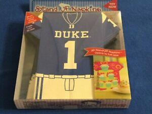 ThemeNaps 3D STAND UP Napkins Unfold to Full-Size, College FOOTBALL Party 16 Pak