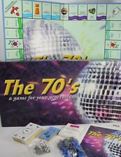 New The 70's Theme Monopoly Board Game Open Box Late for the Sky