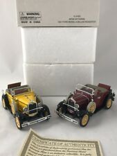 X4 1931 Ford Roadster Model A Car National Motor Museum Mint 1:32 Scale Diecast