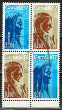 Canada Famous Women stamps block 1966