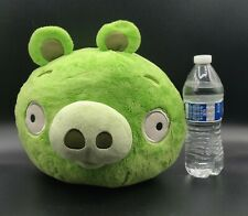 """Angry Birds Green Pig Bad Pig 12"""" Large Plush Retired Original 2010 Commonwealth"""