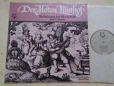 Le Flûtes Lusthof Variations pour flûte à bec avec guitare Vinyle LP