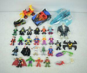 30Pcs/Lot Imaginext DC Marvel Super Friends Action Figure Fisher-Price Toys