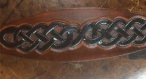Handcrafted Leather Greyhound, Lurcher,Whippet, Saluki collars