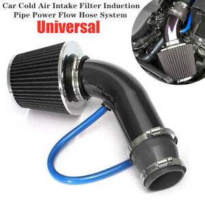 Universal Car Truck Cold Air Intake Filter Induction Pipe Power Flow Hose System