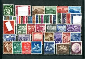851) Deutsches Reich 1941 - Jahrgang 1941 ** (m/nh) komplett