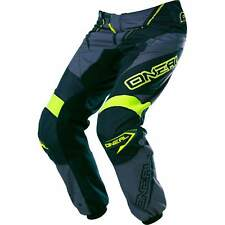 ONEAL YOUTH ELEMENT PANTS YOUTH SIZE 4-5 BLACK,GREY,HV P/N 0128220