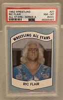 1982 Wrestling All Stars RIC FLAIR The Nature Boy PSA 8OC HOF RC NWA WCW WWF WWE