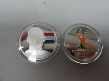 CHALLENGE COIN FREE CAPSULE SHIPPING ARGJEN ROBBEN FIFA WORLD CUP BRASIL 2014