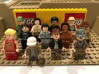Genuine LEGO Indiana Jones Minifigure Lot Excellent Condition -- You Pick!