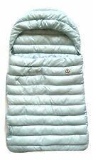 MONCLER baby bag in down jacket 4195100 blue defective