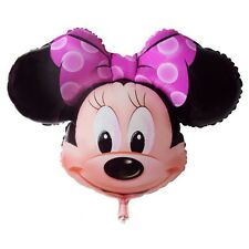 WHOLESALE Minnie Mouse Face Kids Girls Fun Birthday Party Supply Balloon + GIFT