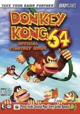 Donkey Kong 64 Strategy Guide Nintendo Rare N64 BradyGames - GREAT CONDITION