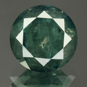 2.23 cts. CERTIFIED Round Cut Vivid Sea Blue Color Loose Natural Diamond 22200
