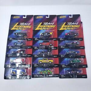 Johnny Lightning ~ Team Lightning ~ Lot of 15 ~ New in Package ~ No Duplicates