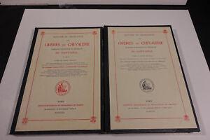Histoire et législation des ordres de chevalerie, marques d'honneur et médailles