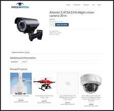 USA - CCTV CAMERA Website|FREE Domain|Make??$$$|100% GUARANTEED or Pay NOTHING!