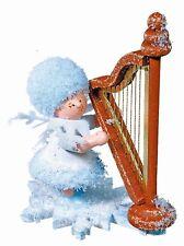 Schneeflöckchen mit Harfe