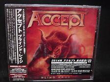 ACCEPT Blind Rage + 1 JAPAN CD + DVD Wolf Hoffmann Don Dokken TT Quick