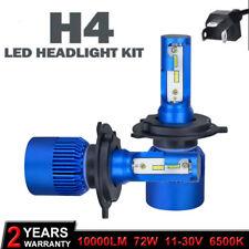 Mini H4 9003 HB2 72W 10000LM Car LED Headlight Bulb Cree COB kit New 6000K White