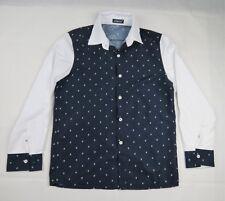 61dd8d6bd7 AOWOFS Button Up Long Sleeve Shirt size XL Cotton Skull Cross Bones  Rockabilly