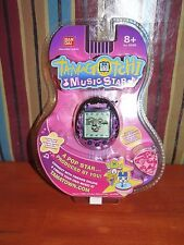 Tamagotchi Music Star V6 GLAM ROCK (BLACK) Electronic Virtual Pet NEW BANDAI