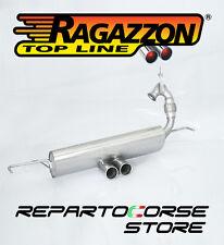 RAGAZZON SCARICO TERMINALE CENTRALE 2x70 SMART FORTWO(453) 0.9 66kW 2014►