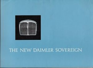 1967 Daimler Sovereign (Jaguar 420-type) brochure