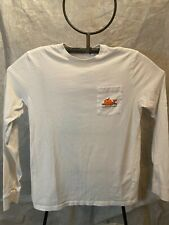 Vineyard Vines Girls Youth Large (16) Long Sleeve T Shirt White